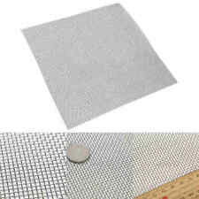 Stainless Steel 30x30cm 10 Mesh Woven Wire Filter Fine Sheet Cloth Screen * US