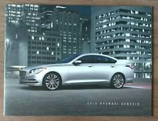 2015 HYUNDAI GENESIS SEDAN Sales Brochure Catalog US 15 G80 3.8 5.0