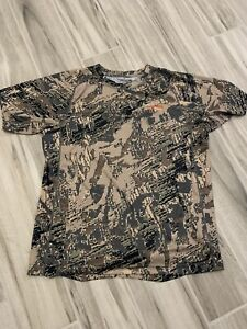 sitka core lightweight short sleeve shirt optifade open country size large