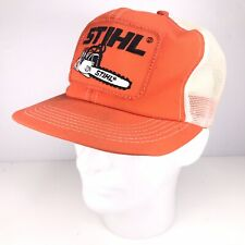 Stihl Chainsaws K Brand Products Made In USA Trucker Hat Snapback Mesh Cap Patch