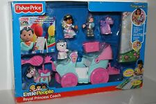 Fisher Price Little People Royal Princess Coach with Play Mat and DVD