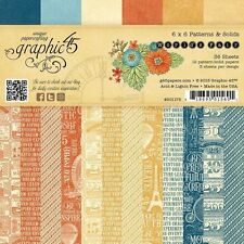 "GRAPHIC 45 ""WORLD'S FAIR"" 6X6 PAPER PAD FAIRS CARNIVALS SCRAPJACK'S PLACE"