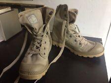 PALLADIUM US devoir Bottes Femmes Chaussure Lacée 92352-238-m Beige Sahara NEUF