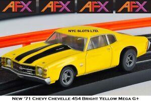 New AFX '71 Chevy Chevelle 454 Mega G+ Fits Auto World, HO Slot Car AFX 22050