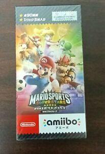 Sealed BOX Nintendo amiibo card Mario Sports Superstars 20 Pack JAPAN 3DS