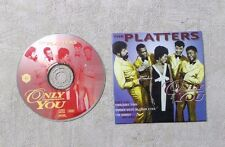 """CD AUDIO MUSIQUE / THE PLATTERS - ONLY YOU """"50 YEARS OF GOLDEN GREATS"""" SLAM 0066"""