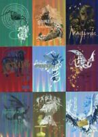 Harry Potter Memorable Moments Foil Puzzle Chase Card Set 9 Cards