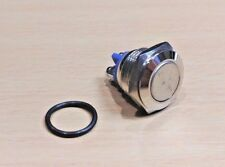 16mm Stainless Steel Waterproof Momentary Push Button Switch (Push to Make)