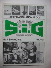 S I G MAGAZINE N° 4 1982 SUPERMARIONATION IS GO   GERRY ANDERSON  THUNDERBIRDS