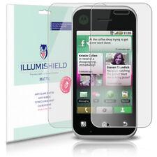 iLLumiShield Matte Screen+Back Protector w Anti-Glare 3x for Motorola BACKFLIP