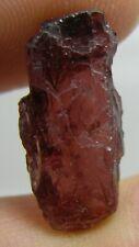 10.25ct Tanzania 100% Natural Raw Rough Rhodolite Garnet Specimen 20.00mm 2.05g