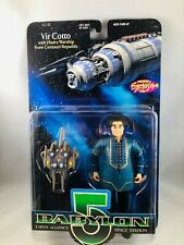 Babylon 5 Vir Cotto Blue Suit Action Figure 1997