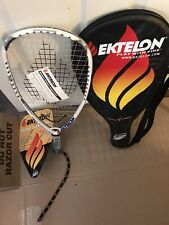 NEW Ektelon More Dominant S Racquetball Racquet w/ Case - Power 2050, SS Grip