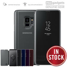 GENUINE Original Samsung G960 G965 Galaxy S9 Plus/S9 CLEAR VIEW Cover Stand Case