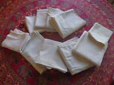 10 pcs. Vintage Cotton Muslin material fabric. Primitive feed flour sugar Sacks