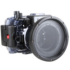 60m/195ft Underwater Waterproof Diving Case Shell Cover Fr Sony RX100 VII Camera