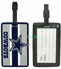 NFL Dallas Cowboys Soft Luggage Bag Tags /Gym bag / Golf bag