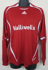 Adidas Football Shirt Soccer Jersey Red Long sleeve Top 8# Tee Mens Large L