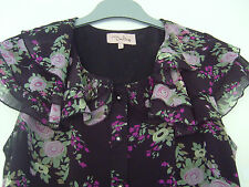 """Ladies Black Blouse, Size L.  *Summer is Coming! """""""