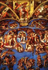 Sistine Chapel Poster, Fresco by Michelangelo, Rome, Italy