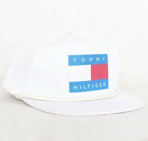 Vintage White designer snapback hat cap 6 panel dad festival NEW