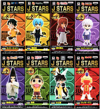 Banpresto J Stars WCF World Collectable Figure Vol.3 (All Set 8pcs) LUFFY KILLUA