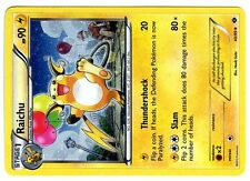 PROMO POKEMON HOLO N° 40/99 RAICHU AUX BALLONS (SUPERBE CARTE)