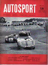 Autosport July 1 1955 Alvis TC 21/100 Test, Traction Engine Racing, Snetterton