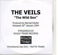 (P588) The Veils, The Wild Son - DJ CD