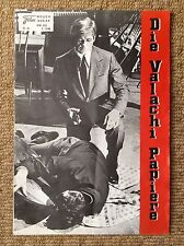 THE VALACHI PAPERS Vintage GANGSTER Movie Program CHARLES BRONSON JILL IRELAND