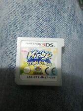 """NINTENDO 3DS/XL 2DS/XL GAME - KIRBY """"TRIPLE DELUXE"""" CART ONLY"""