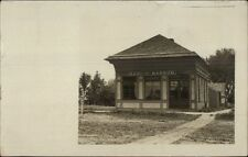 Bank of Barnum - Minnesota on Back c1910 Real Photo Postcard