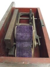 SHOCKING COIL (INDUCTION COIL) MEDICAL ( English ) C1900  { For Restoration }