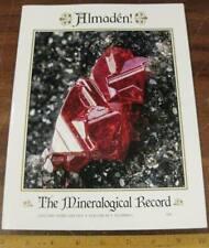 Mineralogical Record Vol 50 #1 Almaden! 2019 Cinnabar Mercury Mining Spain