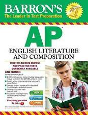 Barron's AP English Literature and Composition with CD-ROM, 6th-ExLibrary