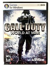 Call of Duty World at War PC Computer Game Windows WW2 Shooter FPS Free Shipping