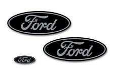 Front,Rear,Steering Wheel Decal Sticker Oval Emblem for Ford F150 2015-2017 GY K