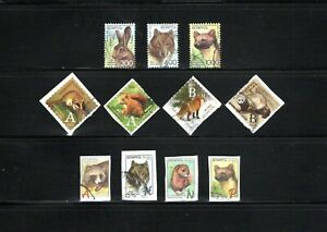 Belarus -- Animals -- 11 diff used from 2007-2014 -- cv $11.05