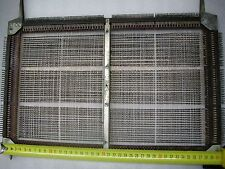 Large first USSR Soviet Magnetic Ferrite Core Memory double plate 2D 1950-s Rare