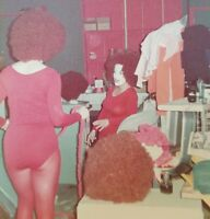 VINTAGE 1975 WTF BIG RED AFRO HAIR FUNNY LOL DANCE VERNACULAR PHOTOGRAPHY PHOTO