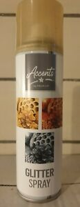 ☆   GOLD Glitter Spray paint, 100ml -  accents by premier ☆