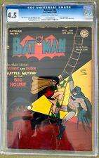 Batman #46 (1948) CGC 4.5 -- Joker and Leonardo Da Vinci appearances; Sprang