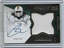"2012 UD Exquisite Travis Benjamin RC Auto/Patch/150  ""SD-Chargers"""