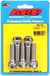 ARP626-1500 ARP 626-1500 7/16-14 X 1.500 Hex SS Bolts