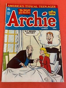 ARCHIE COMICS # 30 (1948 ARCHIE) TEEN-AGER - GOLDEN-AGE COMIC BOOK