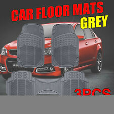 Rubber Auto Floor Mats For  Territory Falcon Protects Against Spills Stains 3pcs