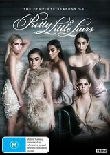 Pretty Little Liars : Season 1 2 3 4 5 6 (DVD, 33-Disc Set) NEW