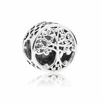 Authentic Pandora 797590 Silver 925 ALE Family Tree Roots Love Bead Charm
