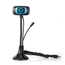 USB 2.0MP HD Camera Web Cam 360° with MIC for Skype Computer PC Laptop