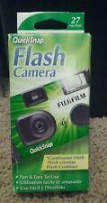 Fuji film Quick Snap 35 mm Flash Camera.